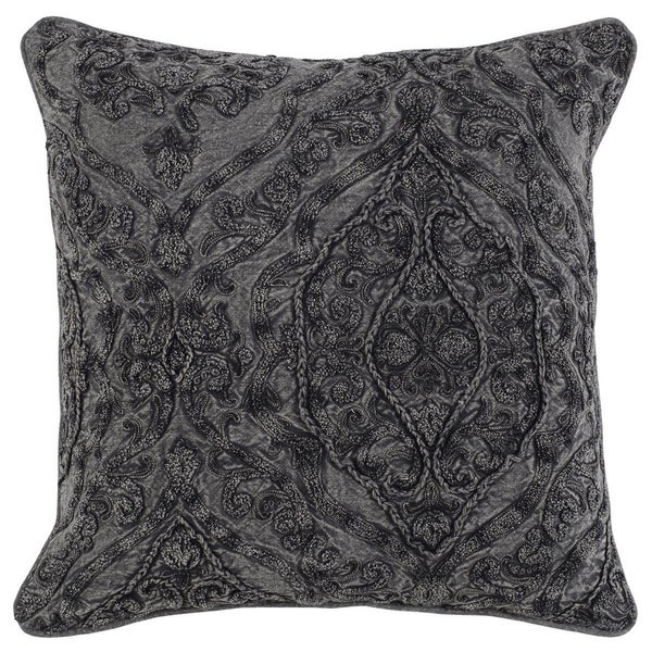 Kosas Home Adele Embroidered 20-inch Throw Pillow