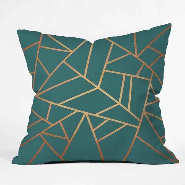 Deny Designs Geometric Reversible Indoor/Outdoor Throw Pillow (4sizes)