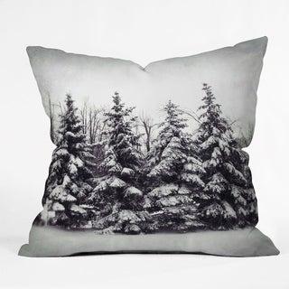 Deny Designs Snow Tree Reversible Indoor/Outdoor Throw Pillow (4sizes)