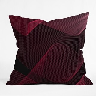 Deny Designs Abstract Reversible Indoor/Outdoor Throw Pillow (4 sizes)