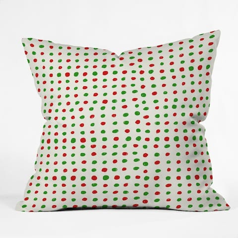 Deny Designs Polka Dot Reversible Indoor/Outdoor Throw Pillow (4sizes)