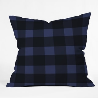 Deny Designs Plaid Reversible Indoor/Outdoor Throw Pillow (4 sizes)