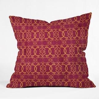 Deny Designs Trellis Reversible Indoor/Outdoor Throw Pillow (4 sizes)