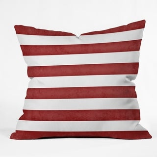 Deny Designs Striped Reversible Indoor/Outdoor Throw Pillow (4 sizes)