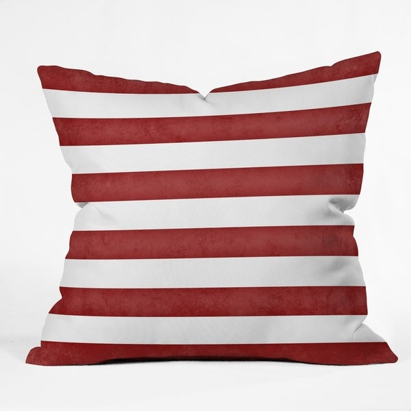 Shop Deny Designs Striped Reversible Indoor Outdoor Throw Pillow 4