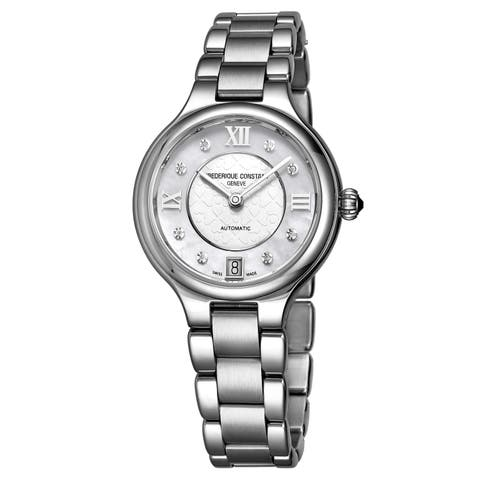 Frederique Constant Women's FC-306WHD3ER6B 'Delight' Stainless Steel Watch