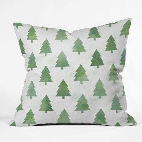 Deny Designs Forest Reversible Indoor/Outdoor Throw Pillow (4 sizes)