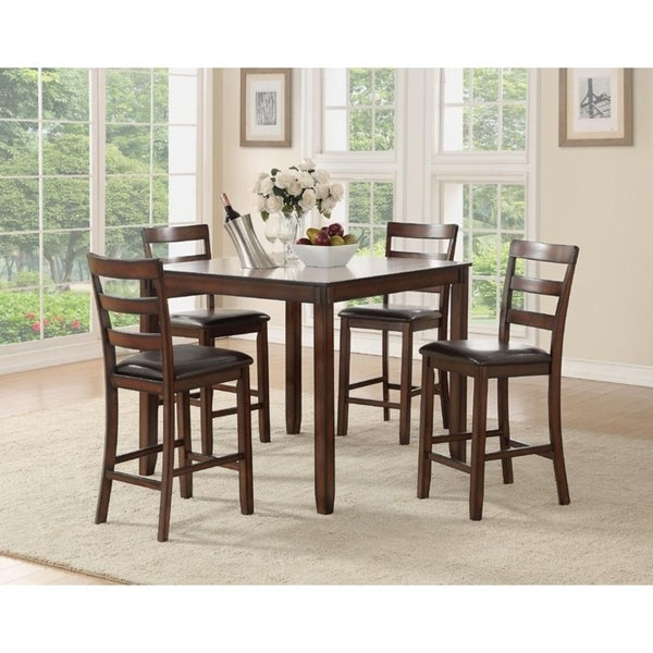Crow 5-Pcs Counter Height Dining Set Shop - Free Shipping Today