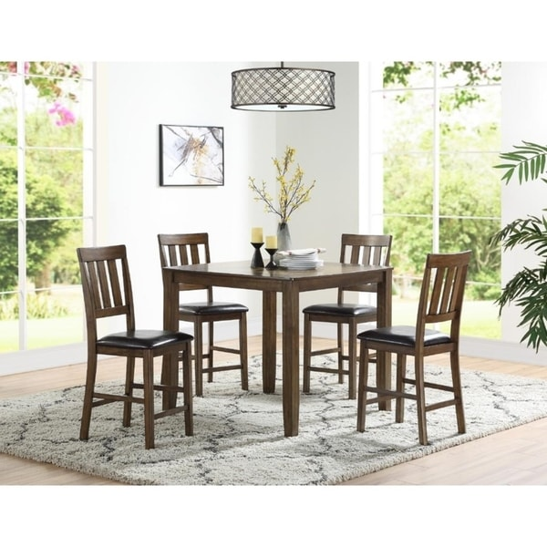 Castle 5-Pcs Counter Height Dining Set Shop - Free Shipping Today