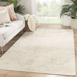"""Beckett Hand-Knotted Medallion Area Rug - 8'10"""" x 12'"""