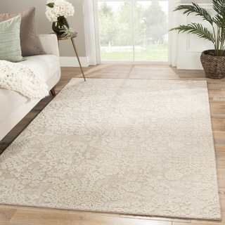 """Roel Hand-Knotted Medallion Area Rug - 7'10"""" x 10'"""