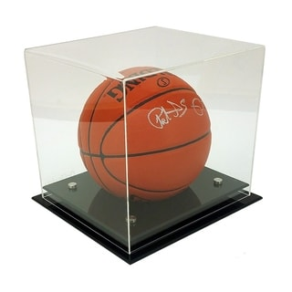 OnDisplay Deluxe UV Protected Basketball Soccer Ball Display Case