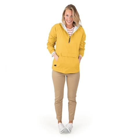 Charles River Apparel Women's Classic Solid Windbreaker Pullover