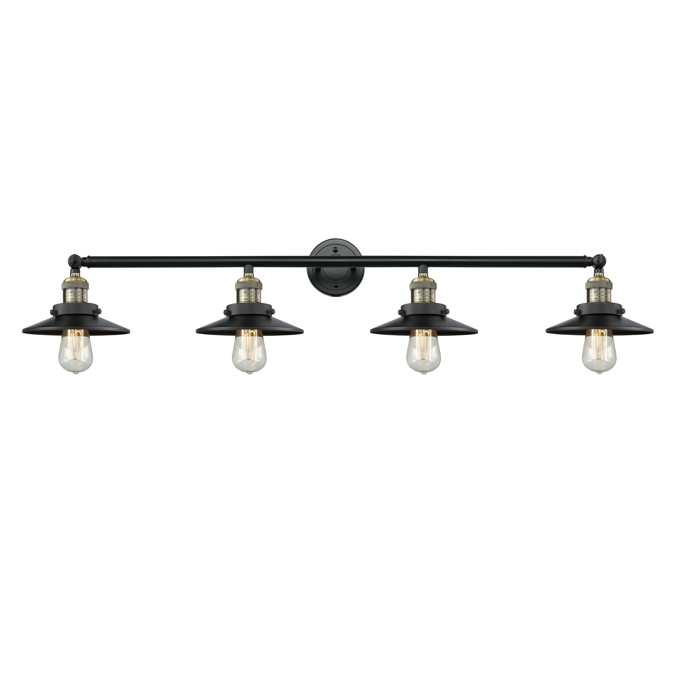 Innovations Lighting Railroad 4 Light Sconce