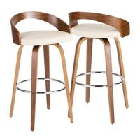 Carson Carrington Stavanger Mid-century Modern Bar Stool (Set of 2)