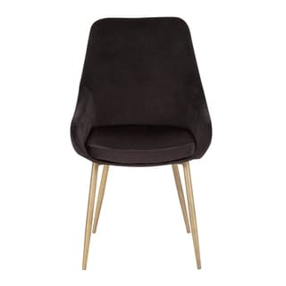 Link to Silver Orchid Alba Velvet Chair (Set of 2) - N/A Similar Items in Dining Room & Bar Furniture