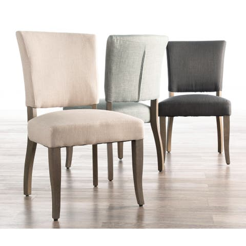 Copper Grove Septemvri Upholstered Armless Dining Chairs (Set of 2) - N/A