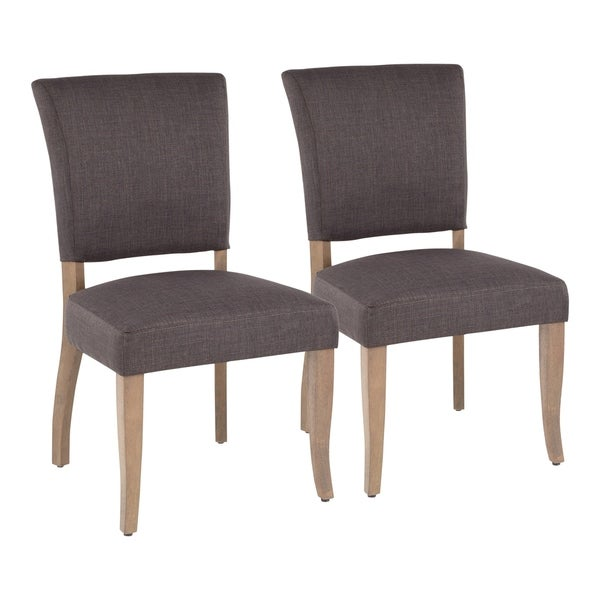 Copper Grove Septemvri Upholstered Armless Dining Chairs (Set of 2) - N/A. Opens flyout.