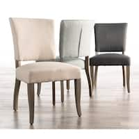 Copper Grove Septemvri Upholstered Armless Dining Chairs (Set of 2)