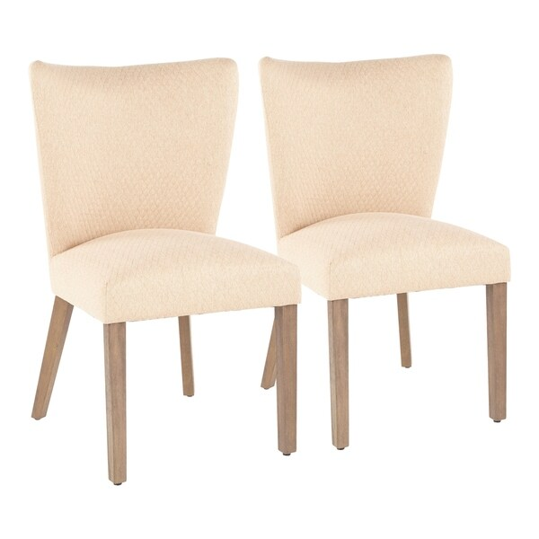 Copper Grove Sopot Armless Upholstered Dining Chairs (Set of 2)