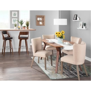 Copper Grove Sopot Armless Upholstered Dining Chairs (Set of 2) - N/A