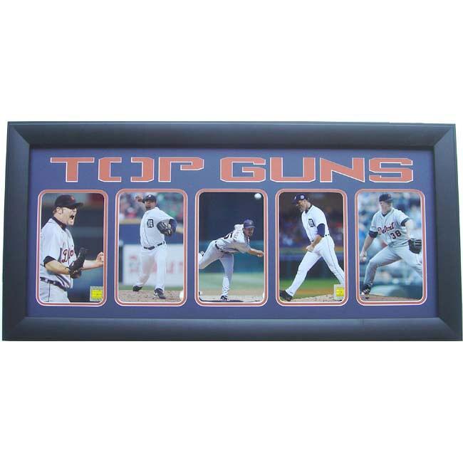 Detroit Tigers Top Guns 5-photo frame