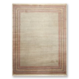 """Master Weaver Signed 200 KPSI Hand Knotted Wool  Persian Oriental Area Rug (9'x12'2"""") - 9' x 12'2"""""""