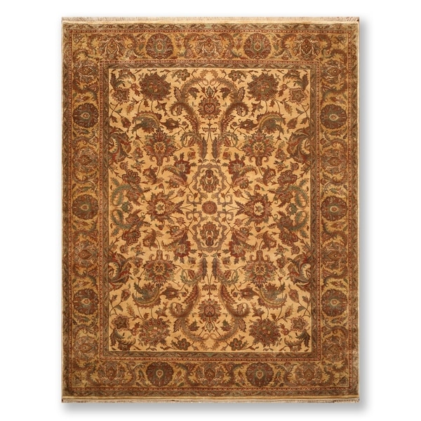 "Hand Knotted Wool Persian Oriental Area Rug (9'3""x11'11"") - 9'3"" x 11'11"""