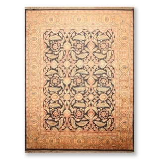 "Traditional Hand Knotted Wool Persian Oriental Area Rug (9'1""x12'3"") - 9'1"" x 12'3"""