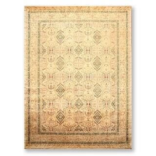 "Hazi Jalili 250 KPSI Hand Knotted Wool Persian Oriental Area Rug (9'x12'3"") - 9' x 12'3"""