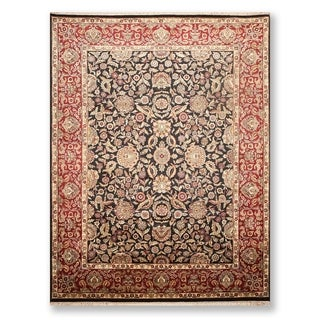 """Hand Knotted Wool Persian Oriental Area Rug (9'1""""x12'2"""") - 9'1"""" x 12'2"""""""
