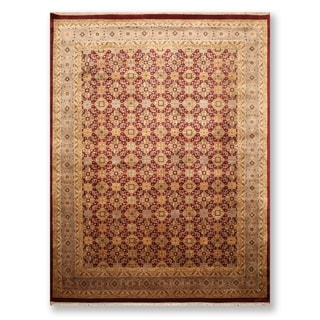 """Hand Knotted Sultanabad Wool Persian Oriental Area Rug (9'11""""x11'11"""") - 9'11"""" x 11'11"""""""