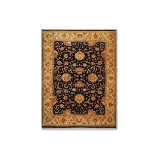 """Hand Knotted Traditional Tea Wash Wool  Persian Oriental Area Rug (9'x11'9"""") - 9' x 11'9"""""""