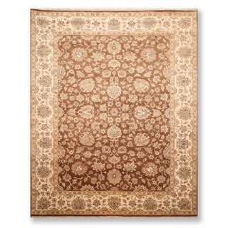"Hand Knotted Agra 200 KPSI Wool Persian Oriental Area Rug (8'9""x11'10"") - 8'9"" x 11'10"""