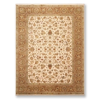 """Hand Knotted  Agra 200 KPSI Wool Persian Oriental Area Rug (9'2""""x12') - 9'2"""" x 12'"""