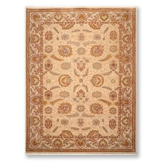 """Hand Knotted 200 KPSI Agra Wool Persian Oriental Area Rug (9'2""""x11'10"""") - 9'2"""" x 11'10"""""""