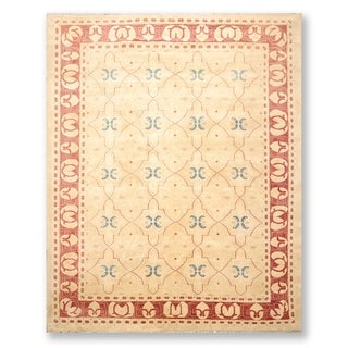 """Oushak Hand Knotted Wool Persian Oriental Area Rug (8'2""""x10'4"""") - 8'2"""" x 10'4"""""""