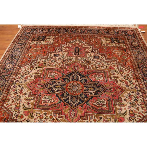 Pande Cameron Heriz Hand Knotted Wool Indo Persian Area