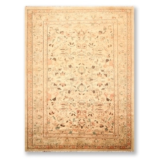 "Tabriz Hand Knotted Wool Persian Oriental Area Rug   (9'2""x12'1"") - 9'2"" x 12'1"""