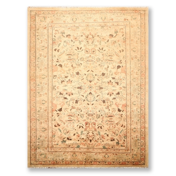 """Tabriz Hand Knotted Wool Persian Oriental Area Rug (9'2""""x12'1"""") - 9'2"""" x 12'1"""""""