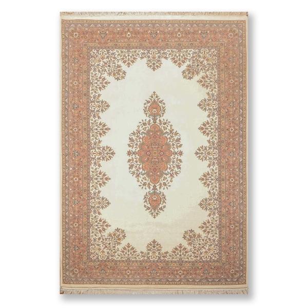 Tabriz Pande Cameron 200 KPSI Hand Knotted Wool Persian Oriental Area Ru (6'x9') - 6' x 9'