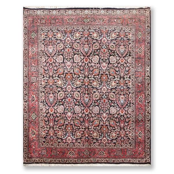 """Hand Knotted 300 KPSI Bidjar Wool Persian Oriental Area Rug (8'3""""x6'9"""") - 8'3"""" x 6'9"""""""
