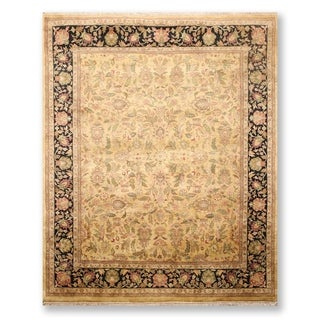 """Hand Knotted Wool Tea Wash Persian Oriental Area Rug (7'9""""x9'8"""") - 7'9"""" x 9'8"""""""