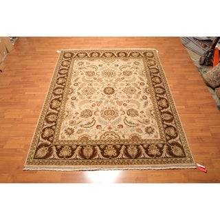 "Hand Knotted Wool Persian Oriental Area Rug (8'1""x10') - 8'1"" x 10'"
