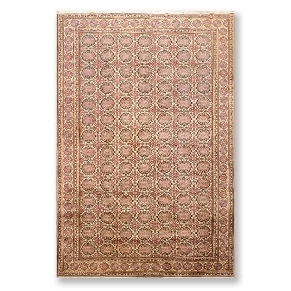 "Kayseri Oushak Superfine Hand Knotted Wool Oriental Area Rug (6'5""x9'7"") - 6'5"" x 9'7"""