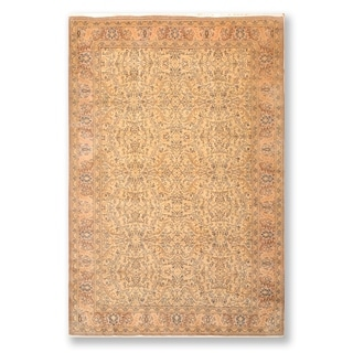 """Super Fine Oushak Hand Knotted Wool Persian Oriental Area Rug (6'8""""x9'8"""") - 6'8"""" x 9'8"""""""