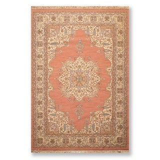 """Tabriz Hand Knotted Wool Persian Oriental Area Rug (6'3""""x9'2"""") - 6'3"""" x 9'2"""""""