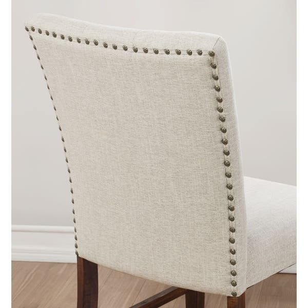 Peachy Napa Rustic Upholstered Dining Chair Gamerscity Chair Design For Home Gamerscityorg
