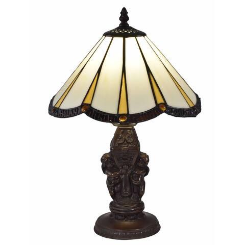 "Springdale 17""H Rosita Tiffany Accent Table Lamp"