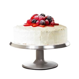 360 Revolving Cake Stand Platter Christmas Birthday Party Display